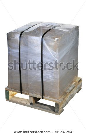 Pallet Wrapped